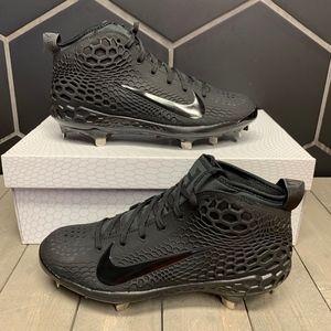Nike Force Zoom Trout 5 Triple Black Grey Shoe